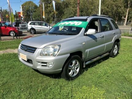 2009 Kia Sportage KM EX-L (Limited) (4x4) Silver 4 Speed Tiptronic Wagon Clontarf Redcliffe Area Preview