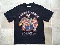 Super Mario Bros M&S T'shirt Age 5-6 years