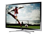 """60""""SAMSUNG SMART 3D TV 600 HTZ FREE-VIEW HD AND BUILT IN WIFI AND WEB BROWSER"""