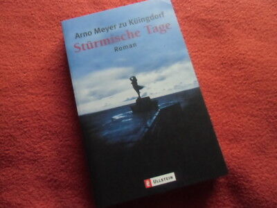 Stürmische Tage  - TB Roman Arno Meyer zu Küingdorf - Krimi