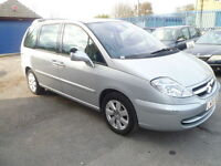 CITROEN C8 1 OWNER LOW MILEAGE.FULL SEVICE HISTORY 2 KEYS, 7 SEATERS, XNEONS........ HEATED SEATED