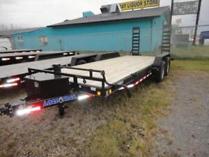 Load Trail Flat-Deck Trailer