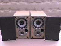 50W Mission Denon SC-M50 horned Stereo Speakers - Heathrow