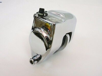 5704 CHROME FRONT LEFT CALIPER FITS ALL HARLEY MODELS 1984-99 except 4-speed FLH