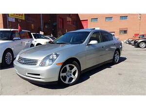 ***2003 INFINITI G35***CUIR/TOIT/BOSE/IMPECCABLE/514-812-8505