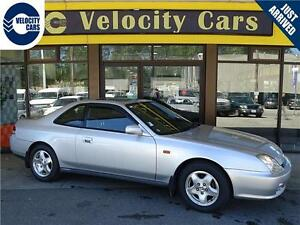 1998 Honda Prelude 22K's Si 4WS Coupe 160hp Sunroof Low Mileage