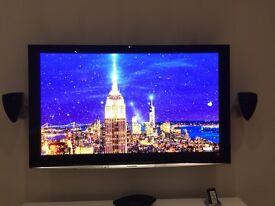 58 inch Panosonic Viera Plasma TV