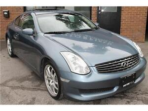 2006 Infiniti G35 Coupe Sport 6 Speed *NO ACCIDENTS   CERTIFIED*