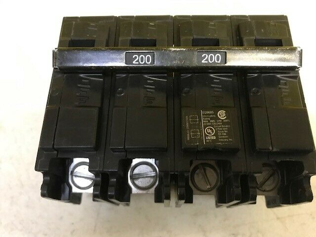 EQ9685 SIEMENS 2 POLE 200 AMP MAIN BREAKER MBK200