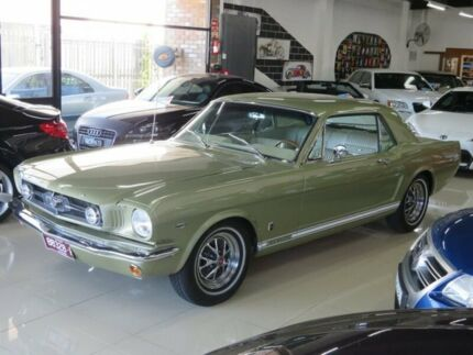 1965 Ford Mustang Olive Gold 3 Speed Automatic Hardtop Seaford Frankston Area Preview