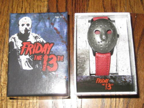FRIDAY THE 13TH JASON MASK WATCH -New!   Camp Crystal Lake