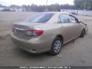 2009 to 2013 Toyota corolla parts for sale