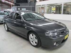2007 Ford Falcon BF Mk II XR6 Grey 4 Speed Sports Automatic Sedan Maryville Newcastle Area Preview