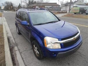 2006 Chevrolet Equinox LT, Loaded , Auto $1995.00