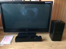 50 inch TV and Sound T12 Sound bar
