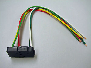 1970-1981-Firebird-Trans-Am-Camaro-Z28-Power-Window-Switch-Pigtail-Harness