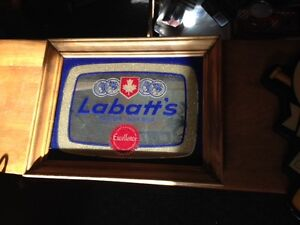 Labatt's Pilsner Lager Mirrored Sign $40.00 obo