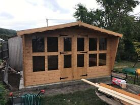12x8 summer house 13mm t&g