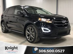 2016 Ford Edge Sport, Auto, AWD, Leather, Sunroof, Navi, Htd Sea
