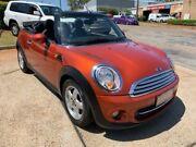 2011 Mini Cooper R57 MY11 Cabrio Orange 6 Speed Automatic Convertible Port Macquarie Port Macquarie City Preview