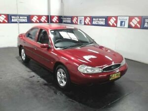 1996 Ford Mondeo HC GLX Maroon 4 Speed Automatic Sedan Cardiff Lake Macquarie Area Preview