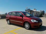 2003 Toyota Avensis Verso ACM20R GLX Red 4 Speed Automatic Wagon Southport Gold Coast City Preview