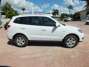2011 Hyundai Santa Fe CM MY12 SLX White 6 Speed Sports Automatic Wagon Hyde Park Townsville City Preview
