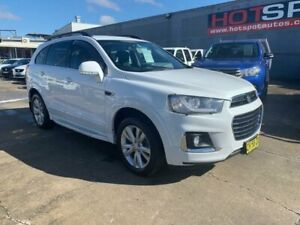 2016 Holden Captiva CG MY16 LT AWD White 6 Speed Sports Automatic Wagon Granville Parramatta Area Preview