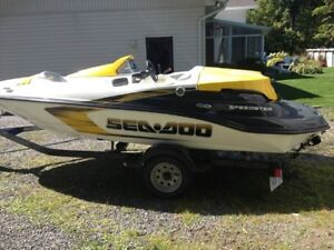 SeaDoo  2008 Speedster boat with Trailer