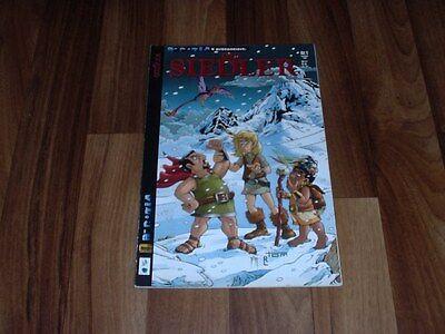 die SIEDLER # 1 -- Fantasy Comic von Egmont in 1. Auflage 2000