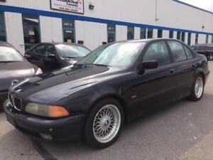 2000 BMW 528 ia/ACCIDENT FREE/BBS WHEELS/NEW TIRES/SUNROOF