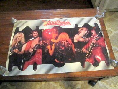 "Judas Priest Vintage 1981 Poster 22"" x 33""  Photo by Steve Joester"