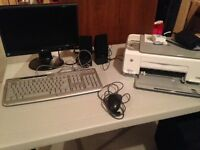 Computer parts - in working condition (monitor sold)