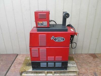 Lincoln Powerwave 450 Welding Power Source Synergic 7h Wire Feeder Welder