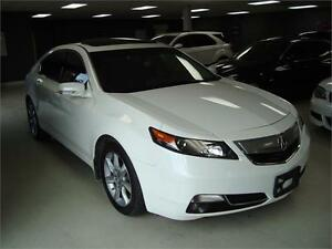 2012 Acura TL w/Tech Pkg. Navigation. Leather. Sunroof.