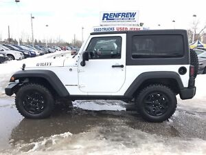 2014 Jeep Wrangler WILLYS 4x4 AMAZING SHAPE