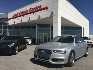 2013 Audi S4 3.0T Premium *333 HP Supercharged, LOW KM!!!!