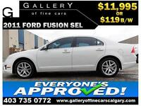 2010 Ford Fusion SEL AWD $119 bi-weekly APPLY TODAY DRIVE TODAY