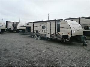2016 FOREST RIVER GREYWOLF LIMITED 29 BH!OUTSIDE KITCHEN!$26995!
