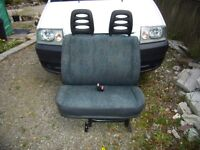 Double passenger seat for Peugeot Expert/Dispatch/Scudo