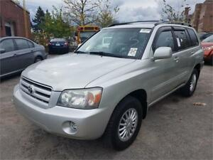 2004 Toyota Highlander 7-Passenger**NO ACCIDENT**LOW KMS***