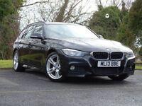 BMW 3 SERIES 2.0 320D M SPORT TOURING 5d (black) 2013