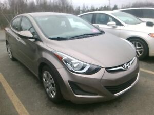 2014 Hyundai Elantra GL Low Low Km, No Accidents! Factory warran