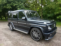 Mercedes-Benz G Wagon G500 Left hand Drive LHD BRABUS Bodystyling