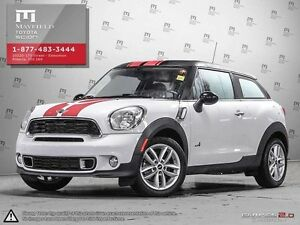2014 Mini Paceman Paceman S coupe 6-speed manual