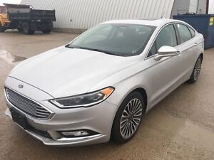 2017 Ford Fusion SE AWD*Lthr/Roof/Nav