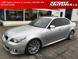 2008 BMW 550i! M Package! NAVI! Staggered! Adaptive Xenons!