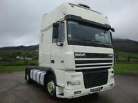 2006 Daf XF95 430 Super Space 4x2 Tractor Unit