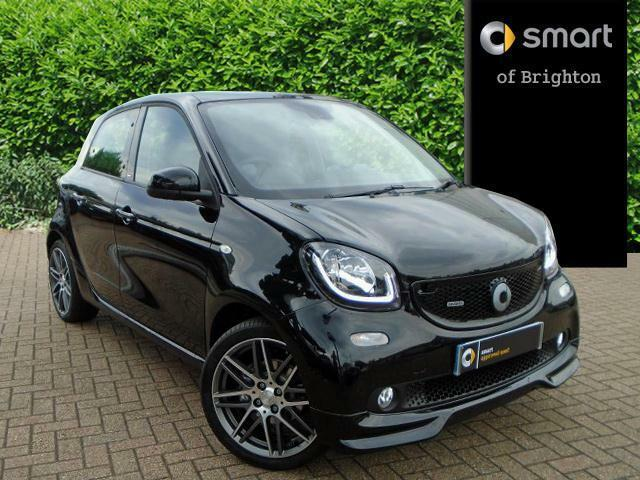 smart forfour brabus premium plus black 2017 04 18 in portslade east sussex gumtree. Black Bedroom Furniture Sets. Home Design Ideas