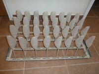 Ikea Sliding Shoe Rack for wardrobe